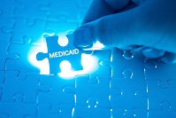 photo of puzzle piece labeled Medicaid